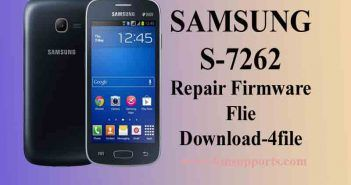 Samsung S7262 Flash File (Firmware 4File) Free Download