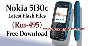 Nokia 5130c Latest Flash Files (Rm-495) Free Download