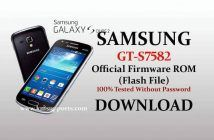 Samsung S7582 flash file (Stock Firmware) Download Without Password